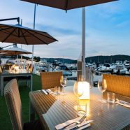 Beautiful Waterside Dining